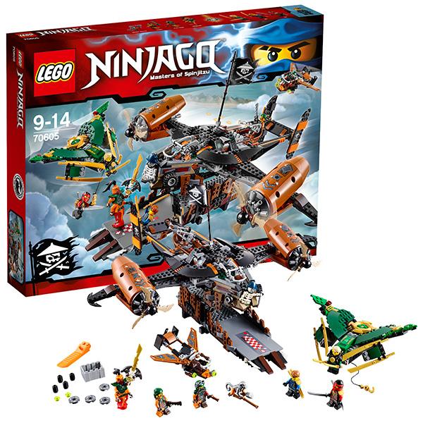 Lego Ninjago 70605 Лего Ниндзяго Цитадель несчастийLEGO Конструкторы<br><br><br>Артикул: 70605<br>Бренд: Lego