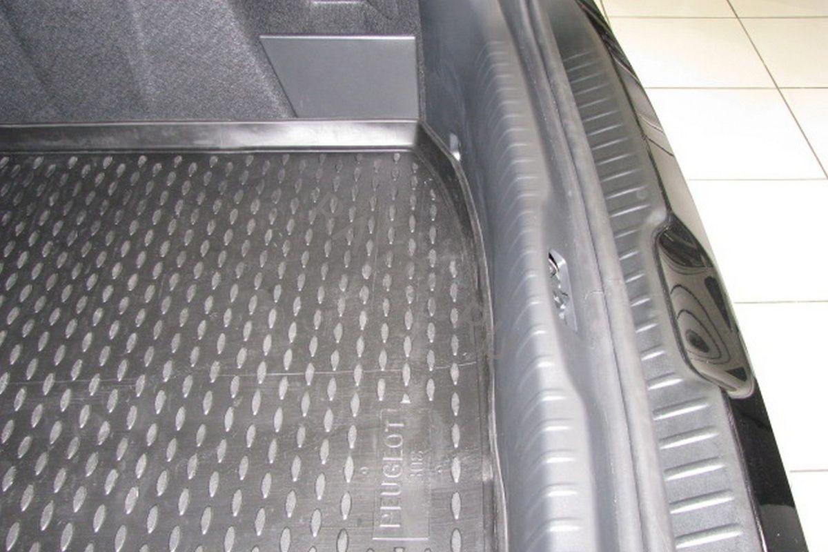 Коврик Novline в багажник PEUGEOT 308 2008-2014, хб. (полиуретан)Коврики<br><br><br>Артикул: NLC.38.11.B11<br>Бренд: Novline<br>Применяемость: Peugeot 308
