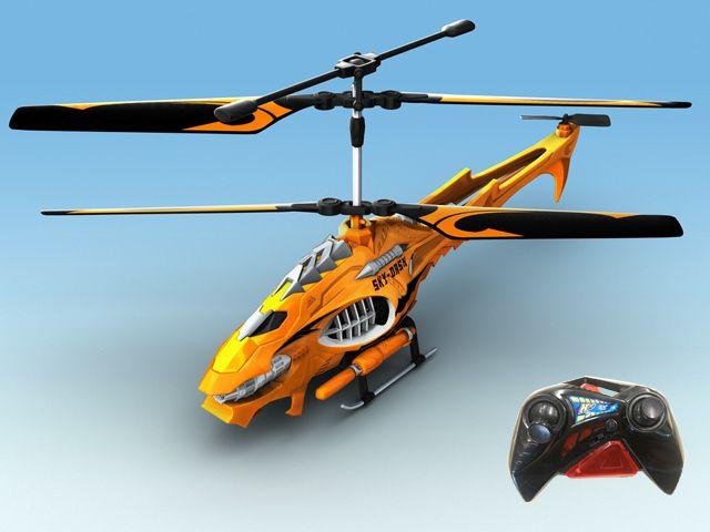 Радиоуправляемый Вертолет Sky Dash На Ик Управлении С Гироскопом, 22 см, 3 Канала Управления, Auldey YW858516 от Ravta