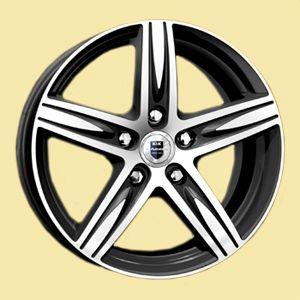 Диск колесный K&K Андорра-оригинал 6Jx15 5x114,3 ET39 Dia 60,1 алмаз Литой от Ravta