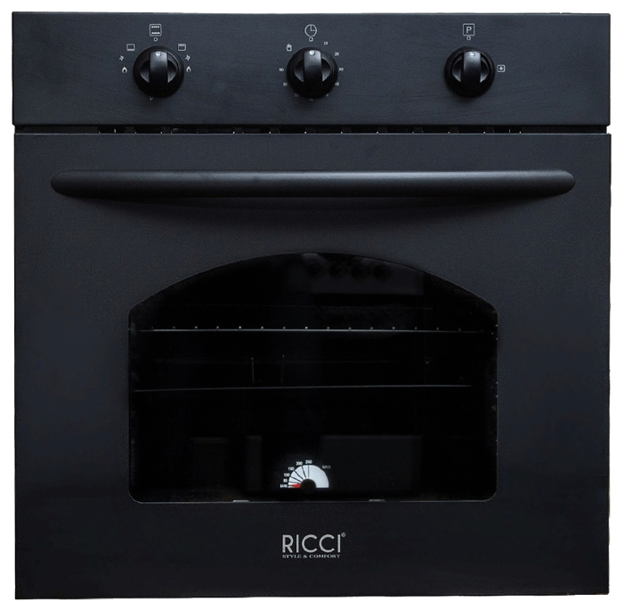 Газовый духовой шкаф RICCI RGO-610BL от Ravta