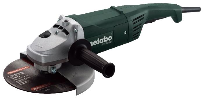 Угловая шлиф.машина METABO W 2200-230, 2.2кВт 230мм 6600об/мин 6кг (600335000) 600335000 от Ravta