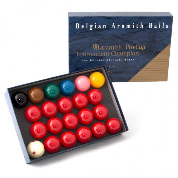 Комплект шаров 52.4 мм Aramith TornamentКии, шары, подставки<br><br><br>Артикул: 70.039.52.0<br>Бренд: Saluc
