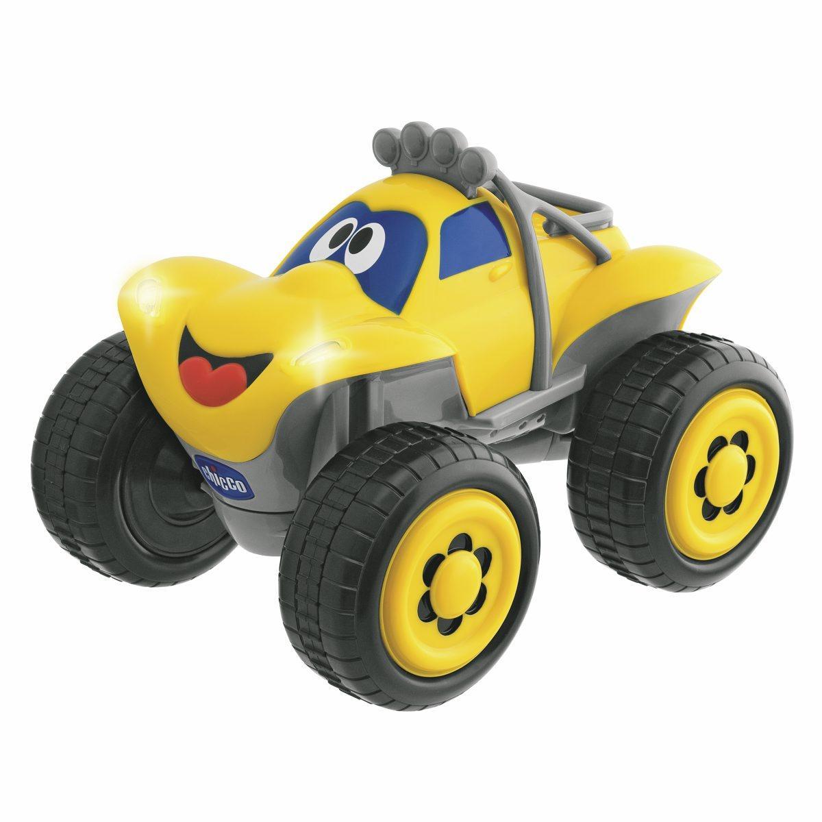 """Машинка """"Билли-большие колеса"""" (желтая) от Ravta"""