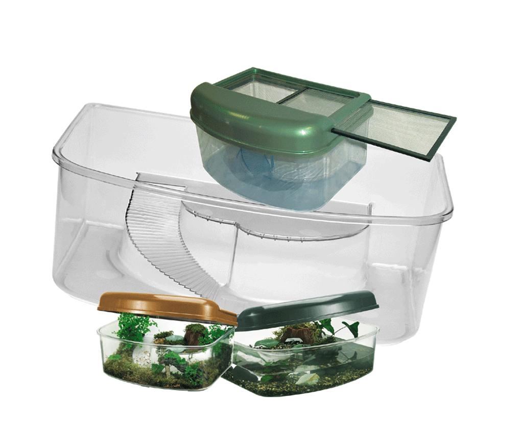 "Террариум пласт. ""Habitat Box"", 41х31х17 см от Ravta"