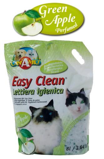 croci Наполнитель д/кош. туалета Easy clean, зелёное яблоко, 3,64 кг (8л) C4025754