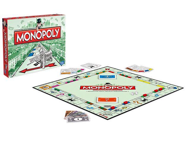 Игра настольная Монополия Классическая, Hasbro 00009Настольные и напольные игры<br><br><br>Артикул: 00009<br>Бренд: Monopoly<br>Категории: Монополия