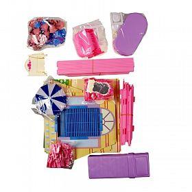 Дом для кукол «Красотка» (130 деталей, 4 комнаты) (арт. Т53238)Куклы и аксессуары для кукол<br><br><br>Артикул: Т53238<br>Бренд: 1 TOY<br>Пол: Для девочек<br>Категории: Дома и мебель для кукл<br>Возраст ребенка: от 3 лет