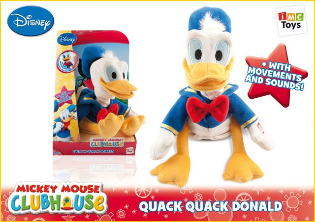Интерактивная игрушка Утенок Donald, Imc Toys 181151Интерактивные игрушки<br><br><br>Артикул: 181151<br>Бренд: Imc Toys<br>Категории: Интерактивные игрушки животные