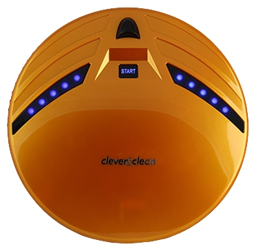 Робот-пылесос Clever&Clean Z10A (желтый) от Ravta