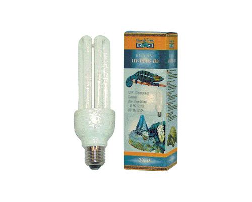 namiba terra Лампа д/ террар. УФ Replux UV-Plus D3, 30% УФ-А/ 6% УФ-В, 23 Вт, цоколь Е 27 NT-1631