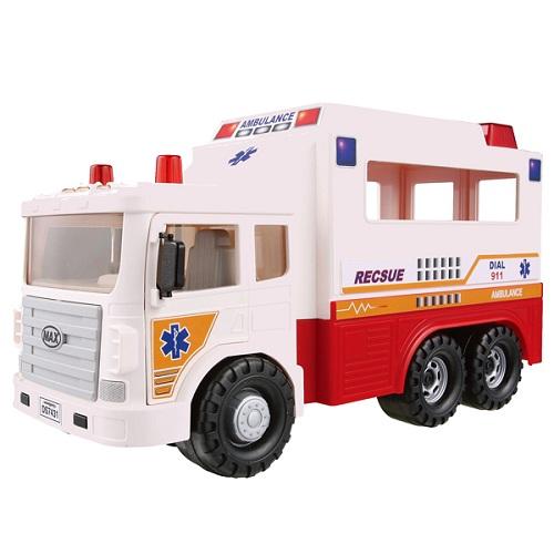 Игрушка машина скорой помощи MAX, Daesung 957-1Машинки, автотреки, катера, самолеты, танки<br><br><br>Артикул: 957-1<br>Бренд: Daesung