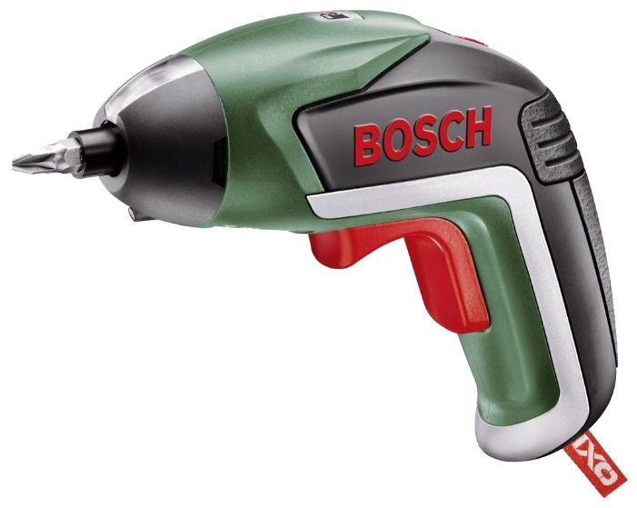 Акк. отвертка BOSCH IXO V Full, 3.6В 1.5Ач Li-ion 4.5Нм 215об/мин 6-гран.1/4 0.3кг кейс 10бит +угл.+эксц.насадки (06039A8022) 06039A8022Аккумуляторные отвертки<br><br><br>Артикул: 06039A8022<br>Бренд: Bosch<br>Родина бренда: Германия