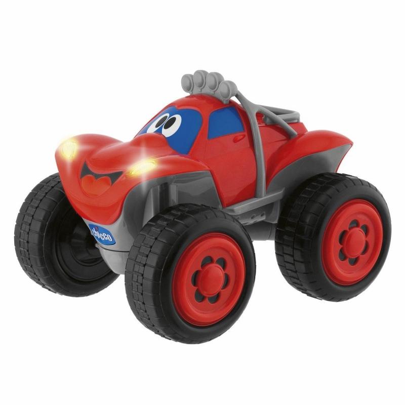 """Машинка """"Билли - большие колеса"""" (красная) от Ravta"""