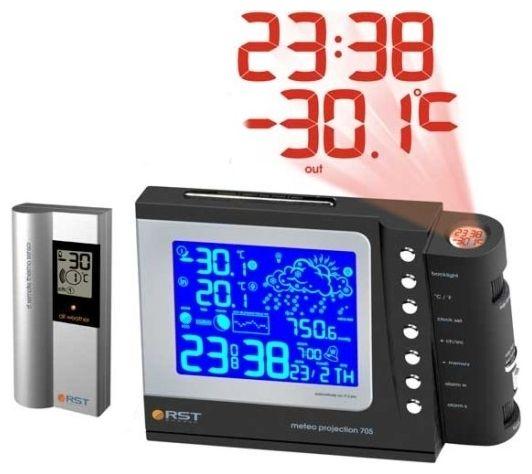 Проекционная погодная станция RST 32705 от Ravta