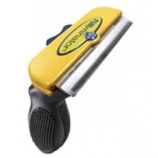 Furminator Фурминатор д/короткошерстных собак крупных пород, 10см ( Short Hair Large Dog deShedding Tool) от Ravta
