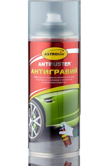 Антигравий прозрачный Astrohim Antiruster AC-480 аэрозоль (520 мл) от Ravta
