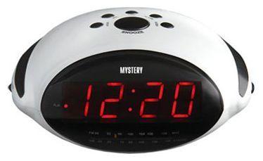 Радиобудильник Mystery MCR-45 (белый/красный) от Ravta