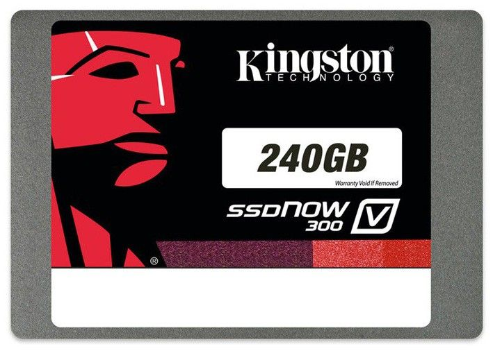 "Жесткий диск SSD KINGSTON SV300S3D7/240G 240GB SSD SATA2.5"" W/PC KIT от Ravta"