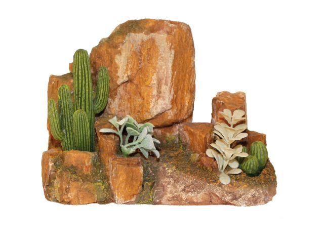 croci Декор Камни с кактусами, 22х14.5х15.5 см, полирез. A8011856