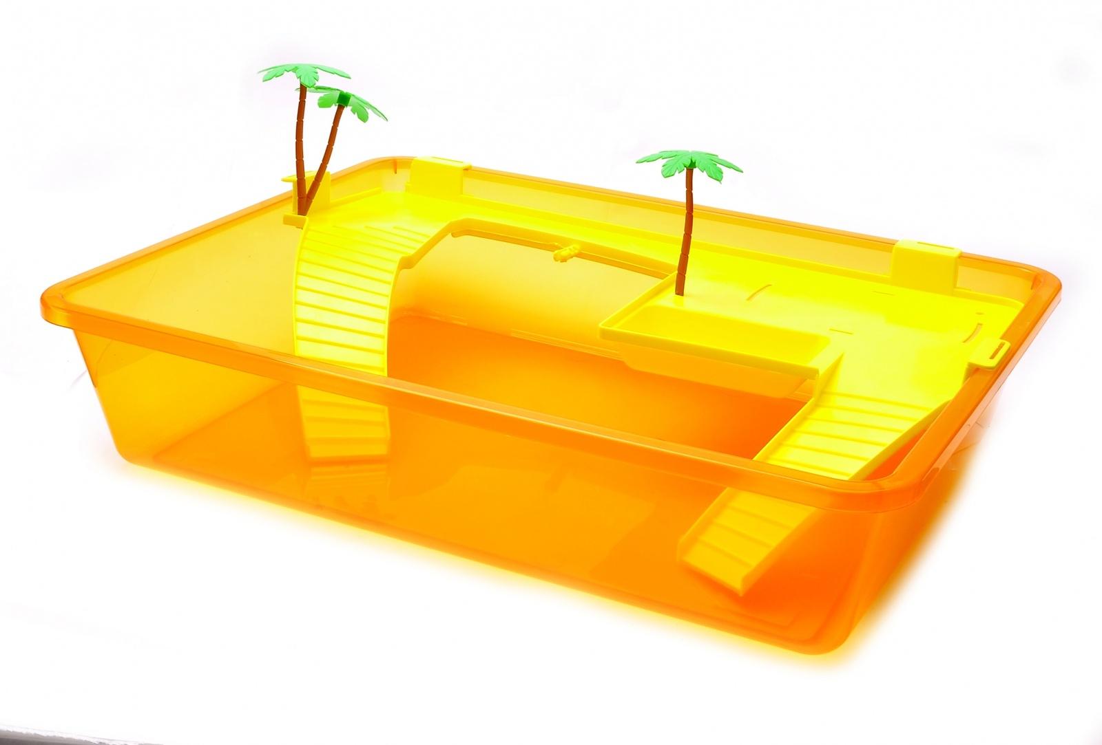 benelux Benelux Закрытый домик для черепахи S, 50 * 38 * 25 см (Turtle box small) 446 50471