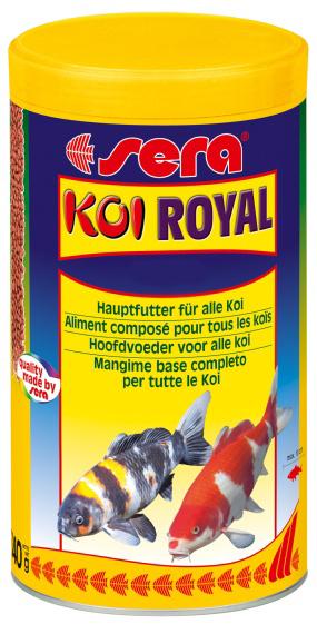 sera Sera Кои Ройал крупный (6 мм), 10000 мл, 2 кг 7128