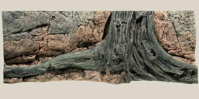 Задник д/аквариума АМАЗОН, 130 х 50 смДекорации для аквариумов<br><br><br>Артикул: 1013050<br>Бренд: On the Rocks<br>Родина бренда: Швеция