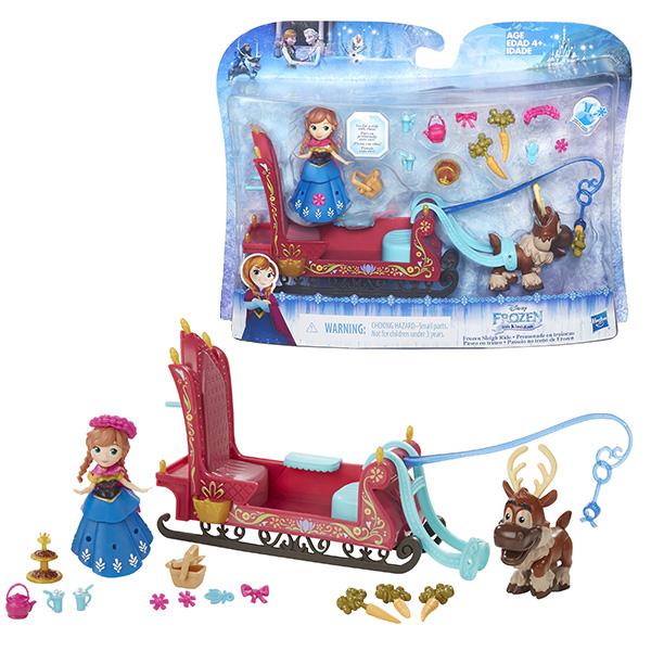 Набор маленькие куклы Холодное сердце  в ассортименте Hasbro Disney Princess B5194Куклы и аксессуары для кукол<br><br><br>Артикул: B5194<br>Бренд: Hasbro Disney Princess