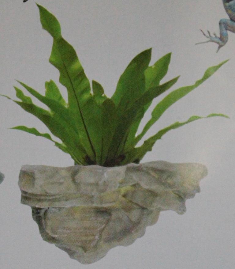 namiba terra Фрагмент фона д/террар., Кашпо д/раст., 27х25х13 см, зеленый NT-1206