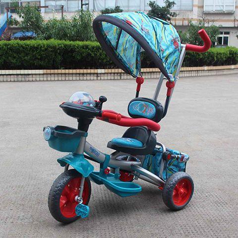 Велосипед GT7710 трехколесный PLANES металлические колеса 11/9 дюймов, Disney GT (GT7710) от Ravta