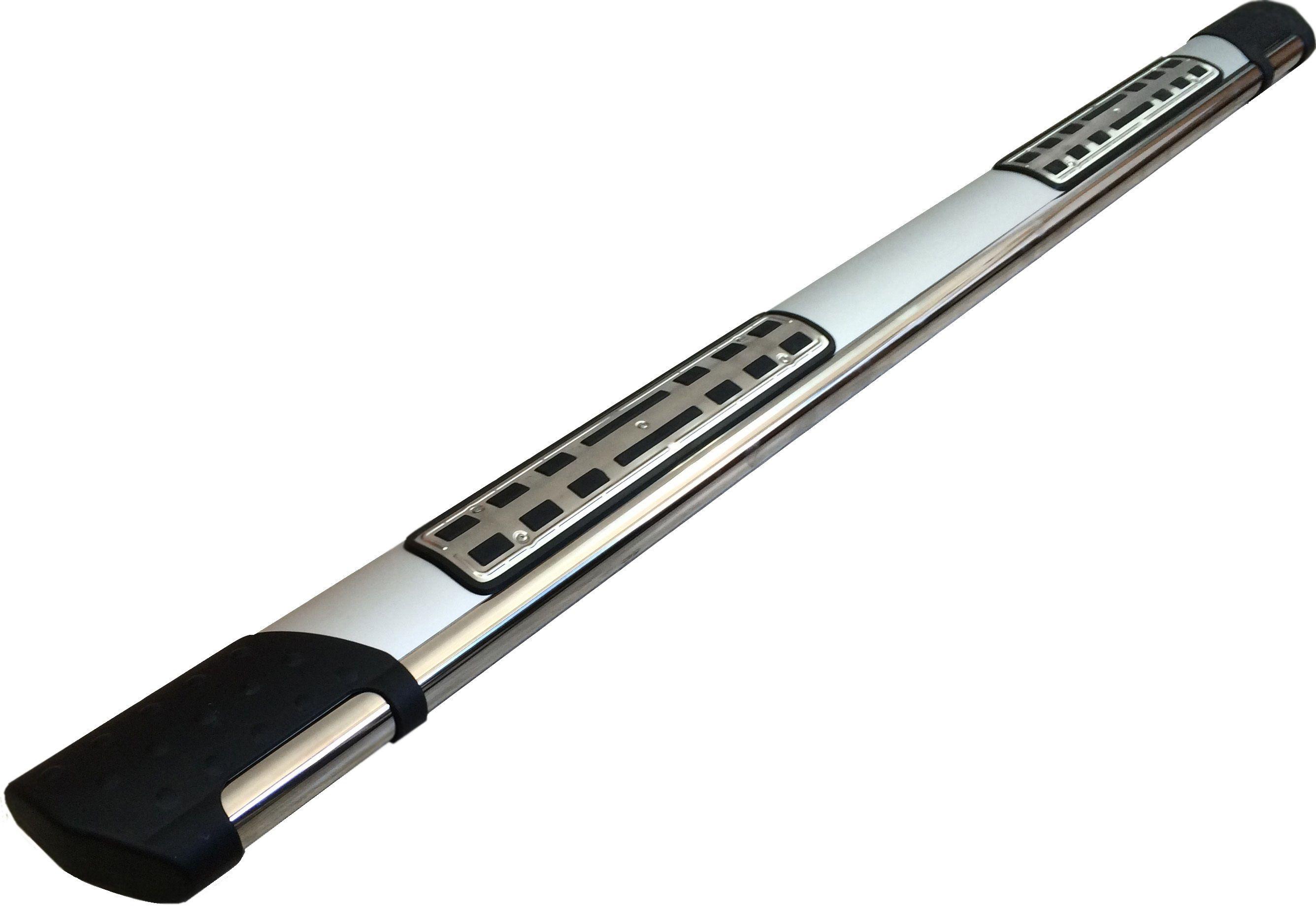 Пороги CAN OTOMOTIV алюминиевые (Emerald silver ) Volkswagen Touareg (Туарег) (2004-) от Ravta