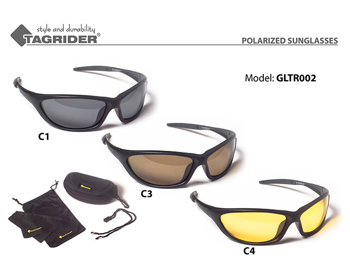Очки поляриз.Tagrider в чехле GLTR 002 C3 AR от Ravta