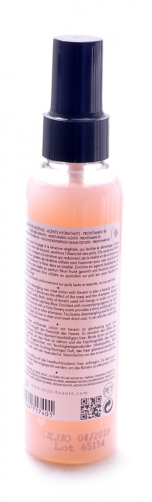 anju beaute Лосьон-Спрей Anju Beaute кератиновый для легкого расчесывания и восстановления поврежденной шерсти Vital Force Lotion, 250мл 50421