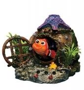 "Декор с распылителем ""Рыба-клоун"", 14х13х11 см ВА-2216 от Ravta"