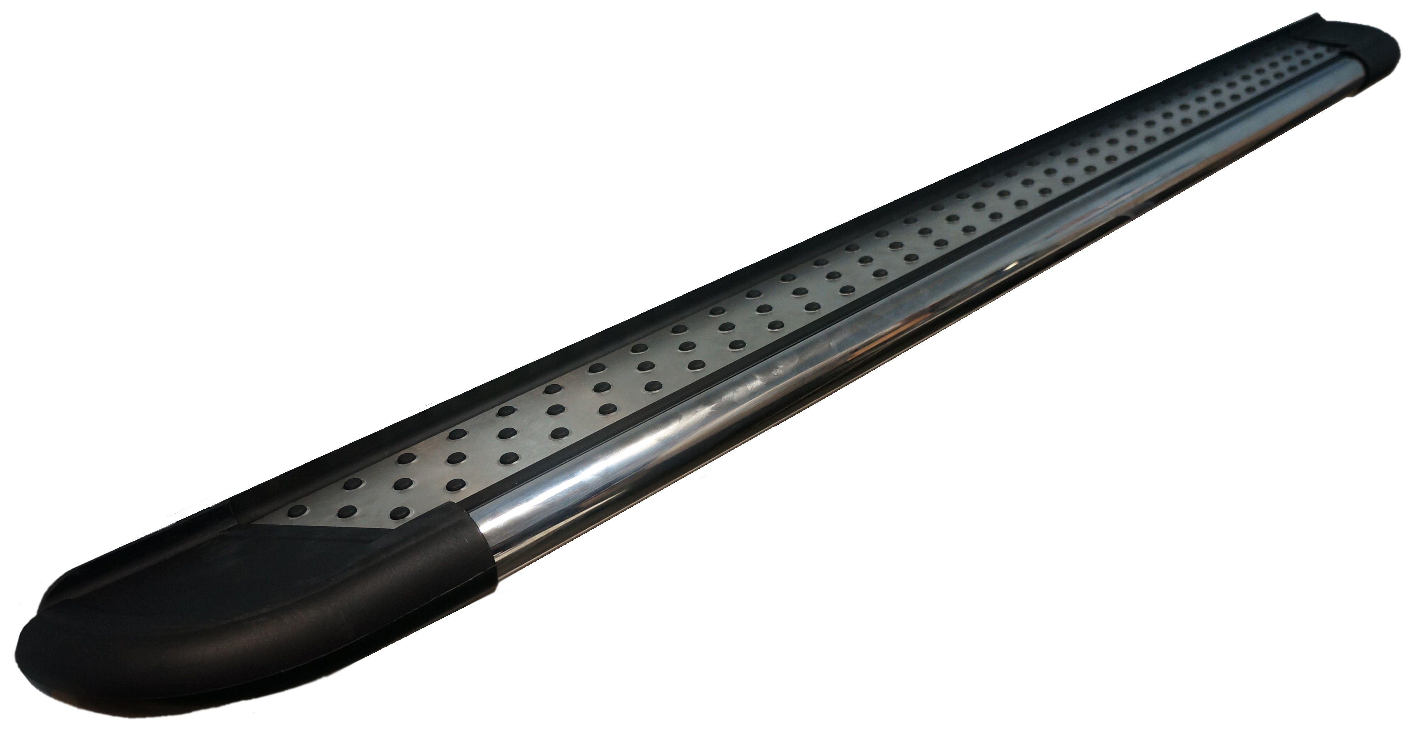 Пороги CAN OTOMOTIV алюминиевые (Topaz) Nissan Qashqai (Ниссан Кашкай) (2006-2014) от Ravta