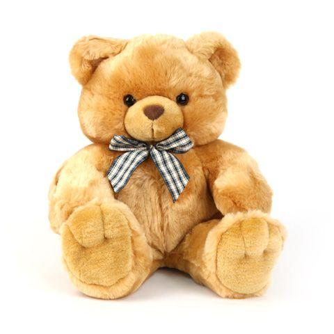 Медведь С Бантом 45 см, Plush Apple AL00558BМягкие игрушки<br><br><br>Артикул: AL00558B<br>Бренд: Plush Apple<br>Категории: Животные
