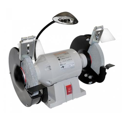 Точило ИНТЕРСКОЛ Т-200/350, 350Вт 200х20x16мм 2950о/м +светодиодн лампа 11.3кг 91.1.0.00 от Ravta