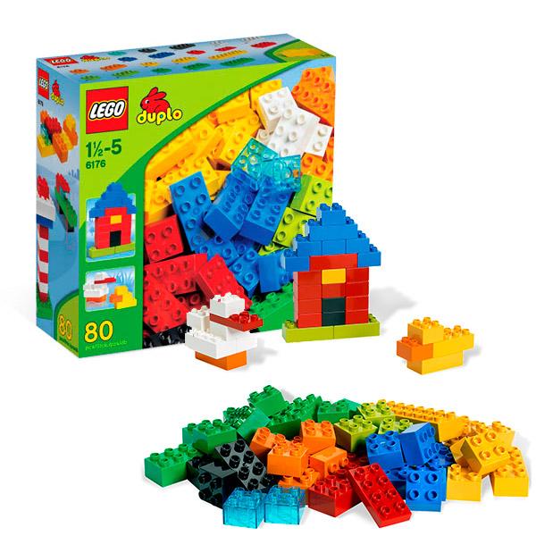 Конструктор Лего Дупло (Lego Duplo) Основные элементы, Lego 6176LEGO Конструкторы<br><br><br>Артикул: 6176<br>Бренд: Lego