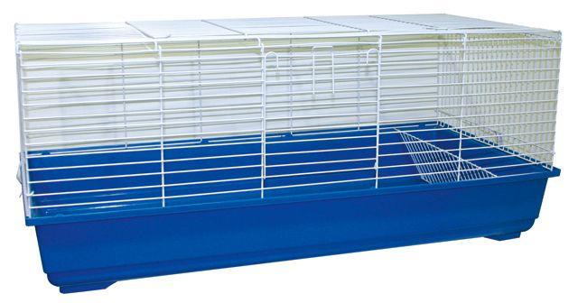 """Клетка д/круп. грызунов """"Cavia 120"""", 120х59х50 см, голуб./бел. от Ravta"""