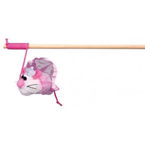 Как сделать игрушку на палочке для кошки