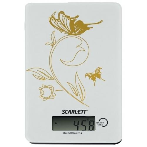 Весы кухонные Scarlett SC1212 (белый): цена, описание, отзывы