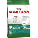 Корм Royal Canin Mini Adult 8+ для собак мелких пород старше 8 лет 2кг  канин (royal и кошек