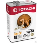 Масло моторное TOTACHI Grand Racing Fully Synthetic SN/CF 5W-50 (4л)