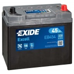 Аккумулятор EXIDE Excell EB454 45Ah 330A