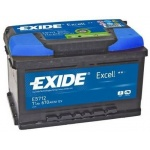 Аккумулятор EXIDE Excell EB712 71Ah 670A